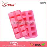 PR503 PRZY 10 even the square brick cake mold chocolate ice tray ice mold plans to sample processing