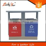 outdoor environmentally friendly automatic electronic sensor dustbin