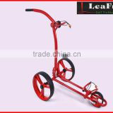 Aluminium Push Golf Buggy With Sports Wheels
