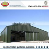 Pre engineered steel structure car parking shed