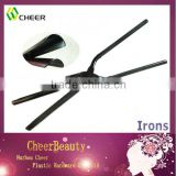 Hollow black C shape hair curling iron BI005/curling iron stove set/rotating curling iron