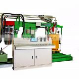 Automated batch mixing machine of foam blocks