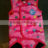 2014 fashion and top design customize baby wetsuit