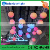 shenzhen low price colorful kinetic system balls lights dmx winch