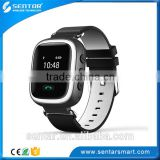 China V80 Two-way call anti-lost Real time tracking Kids GPS Watch/wrist watch gps tracking device