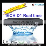 Joney CCTV High performance 8CH H.264 Surveillance DVR for Security CCTV DVR System