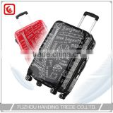 cheap beautiful kid hard side luggage bag in flight