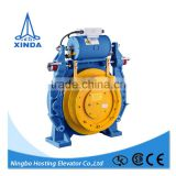Passenger lift drive system/ low price top gearless synchronous traction machine