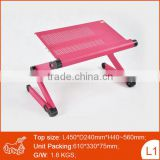 Computer Desk Ergonomic Angle Adjustable laptop stand table for bed