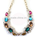 fashion ruby beads necklace design wholesale collar necklace