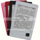 portable tft ebook reader 6 inch