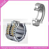 Four row cylindrical roller bearing for jet engines