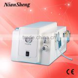 Home use facial diamond peeling machine with radio frequency,mesotherapy RF facial machine