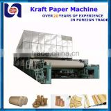 low investment high profit business 2400mm twin wire waste carton kraft paper recycling mill machinery