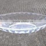 Glass bowl glass fruit plate banana boat wholesale