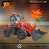 china factory export Hytec ZL20F shovel loader machine