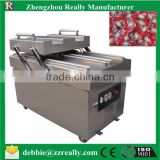 Stainless steel double chamber automatic vacuum packaging machine at factory price