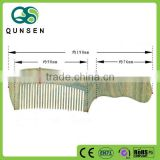 Promotional fancy popular wooden dematting comb
