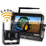 Wireless video system for Farm tractor agricultural equipment, Bus, Freight Hgvs, Municipal, Garbage Truck vision