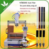 Wiscoo sticky heavy high viscosity pure oil 1.0ml/.4ml/.5ml/.6ml/.8ml/ cartridge e cig vape pens filling machine