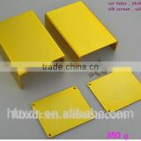 golden anodizing extruded aluminum enclosure for electronic product profiles aluminium for case