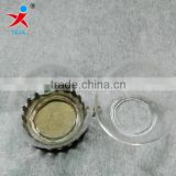 Manufacturers selling DIY bracelet accessories/glass ball cap/creative/straight cover glass crystal ball