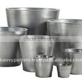APB Galvanized zinc vase,Galvanized zinc watering can , Zinc Pot Planter, zinc planter for gardening and household