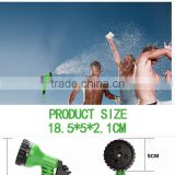 various style superior Solid Brass Strength Fabric energy-saving double nozzle spray gun