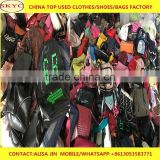 wholesale fairly used school bags women used clothes bags shoes in bales