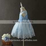 princess clothing pink sequines flowers kids party dresses blue mesh dress for kids girl