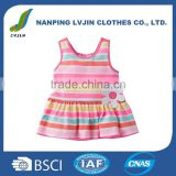 100% Cotton Girls' Sleeveless Tunic Top Wholesale Price