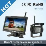 7 inch 2.4G wireless rearview system