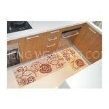 Non-Skid Comfortable bathroom rugs and mats , Recycled Microfiber Flooring Mat Carpet