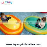 Inflatable power paddle Bumper Boat rechargeable for kids used in water park
