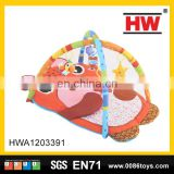 New design cartoon floor gym mat the infant play mat
