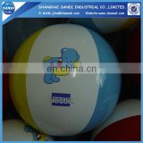Customized PVC inflatable Beach Ball for advertising