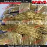 French Metal Wire Coil Bullion Purl Gimp Smooth Regular