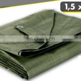 45 GSM CHEAP PE TARPAULIN - OLIVE GREEN COLOR
