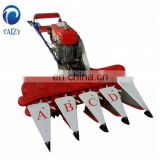 tractor mounted corn harvester maize straw cutting machine in china