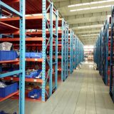 Thick Steel Commercial Shelving Selective Pallet Racking