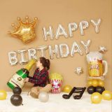 Birthday balloon set foil ballon party balloon decoration balloon mylar balloon advertising balloon