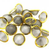 Cone Shaped Wire Mesh Filter Strainer   Stainless Steel Conical Strainer    round hole Metal Filter Screen