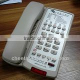 simple corded single line phone for hotel room