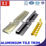 Ceramic tile trim corner edge,aluminum decorative trim for wall ,tile outside corner trim