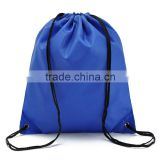 PVC clothing tourist packing bags sports cheap draw string backpack nylon drawstring bag