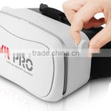 2016 Trendy VR 3D Glasses VR PRO Virtual Reality VR Box with Clear HD Performance for 3D Movie and Games Playing