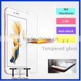 Cell phone screen guard 2.5D ultra thin 9H hardness tempered grass screen guard for iphone 6 / 6s