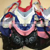 1.75USD 34-40 B Cup Thin Foam Newest High Quality Bra With Rims Mixing Colours Ladies Magic Bra(gdwx075)
