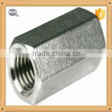 china factory nonstandard aluminum long coupling nut