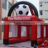 inflatable football goal post/ inflatable football soccer goal for export